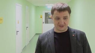 Ремонт приемного отделения в АКЦГБ завершен!