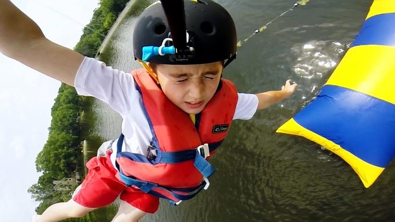 GoPro Summer Camp Kids Take on 'The Blob'
