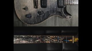 Самая дорогая гитара PRS Private Stock 35 Anniversary Dragon Frostbite Dragons Breath Unboxing Sound
