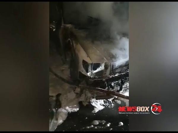 В поселке Новом неизвестные сожгли три машины на стоянке депутата Думы Надеждинского района