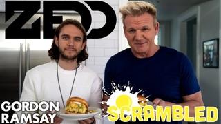 Can Zedd Remix A Breakfast Sandwich With Gordon Ramsay?   Scrambled