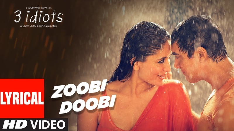 Zoobi Doobi Lyrical Video | 3 Idiots | Aamir Khan | Kareena Kapoor | Sonu Nigam, Shreya Ghoshal