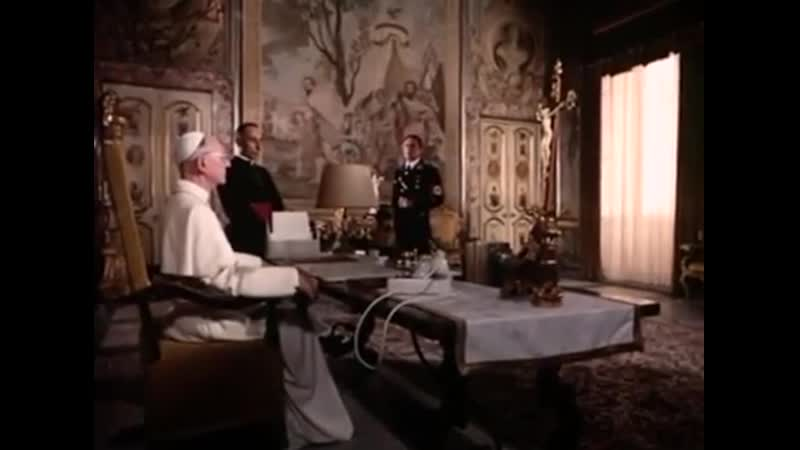 The Scarlet and the Black 1983 Gregory Peck Christopher Plummer John Gielgud Raf Vallone Jerry London