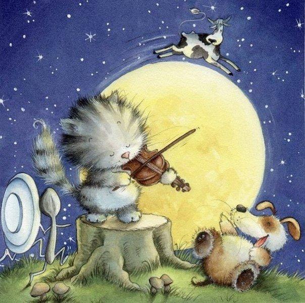 Ретро открытки спокойной ночи малыши, гравити фолз прикольные