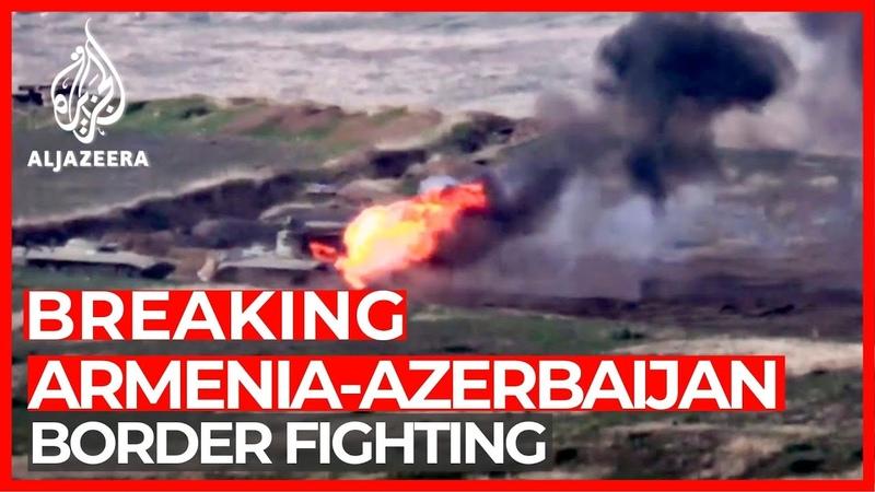Fighting erupts between Armenia Azerbaijan over disputed region