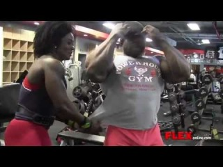Kai Greene Arm Workout 11 Weeks from 2013 Olympia