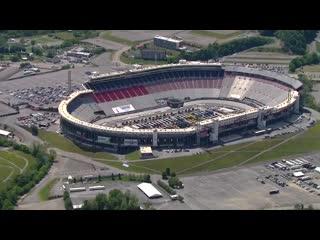 Chopper (blimp) camera - Bristol - Round 09 - 2020 NASCAR Cup Series