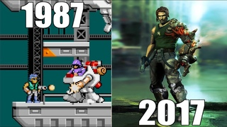Evolution of Bionic Commando Games [1987-2017]