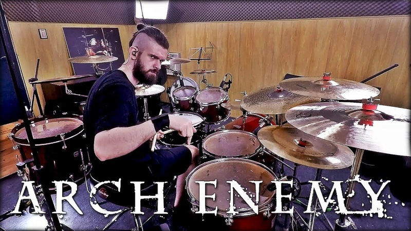 ARCH ENEMY THE WORLD IS YOURS DRUM COVER PEDRO TINELLO