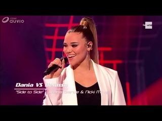 The Voice Belgium 9 Ariana Grande feat Nicky Minaj Side ▪️to side Dania Giò / Belassa