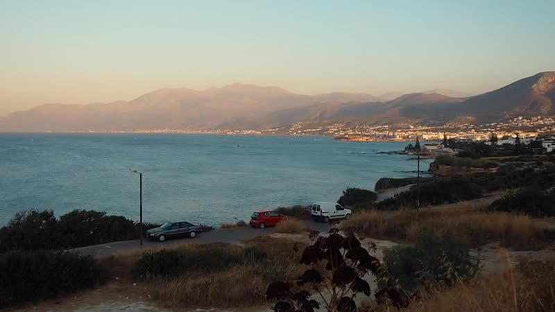 Crete sunset Stop Your Internal Dialogue by Tamko