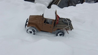 Now this is close to a real off-road car! -- Even though it is an #rc #c44km from #wpl.