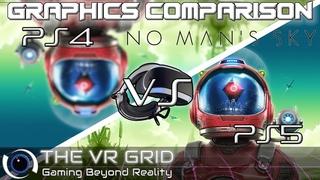 No Man's Sky | GRAPHICS COMPARISON | PS4/PS5 - A MASSIVE upgrade!!!