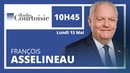 François Asselineau à propos de la Francophonie sur Radio Courtoisie 13 mai 2019