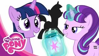 Мой Маленький Пони. Мультфильм Дружба - это чудо! Карта знаков отличия 5 сезон 2 части!