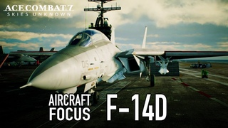 Ace Combat 7: Skies Unknown - PS4/XB1/PC - F-14D Aircraft Focus