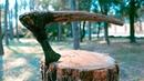 Восстановление старого топора II—IV веков. Реставрация