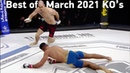 MMAs Best Knockouts of the March 2021 Part 2, HD