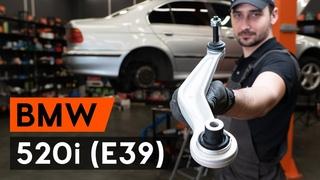 Как заменить задний рычаг подвески BMW 520i (E39) [ВИДЕОУРОК AUTODOC]