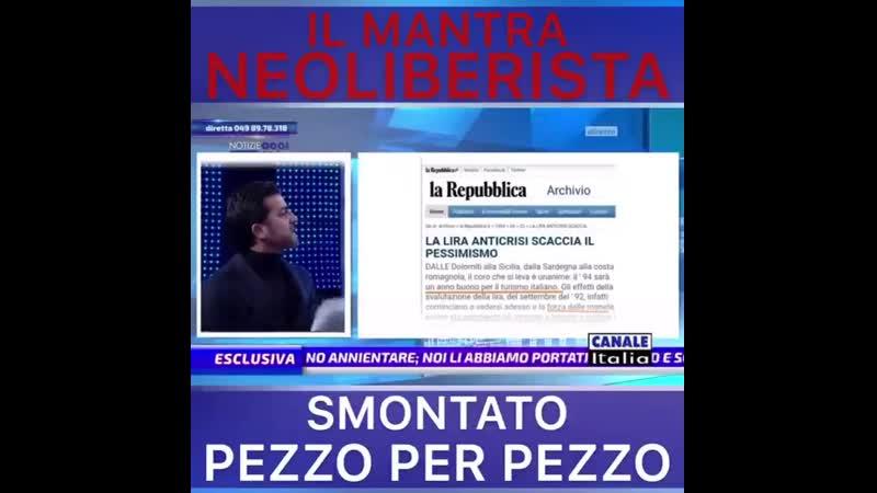L'ABBANDONO DELLA LIRA PER L'EURO E' STATO UN GOLPE FINANZIARIO DEI MASSONI AI DANNI DELL' ECONOMIA ITALIANA