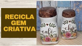 COMO FAZER POTES PARA CAFÉ E CHÁ
