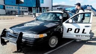 Обзор Ford Crown Victoria POLICE. На чем ездила АМЕРИКАНСКАЯ ПОЛИЦИЯ.