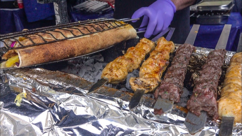 Skewers and Kebab from Lebanon and Middle East London Street Food