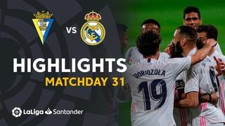 . Чемпионат Испании-2020/2021. Кадис - Реал Мадрид. Обзор матча