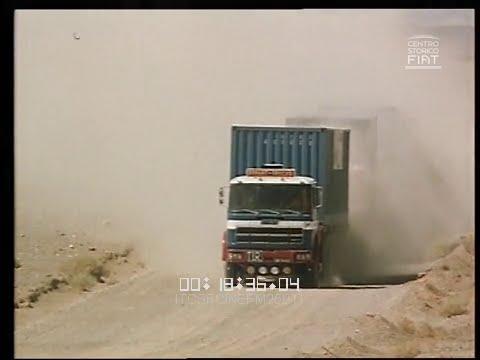 Rotta Karachi camion FIAT 697 T 619 1975 ita