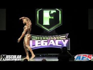 Cedric McMillan's Posing Routine (2nd Place) | 2017 FERRIGNO LEGACY